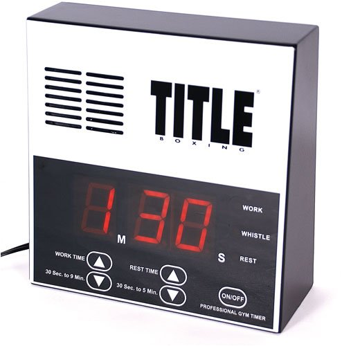 TITLE Boxing Pro Digital Gym Timer by Title Boxing