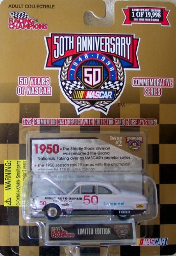 Racing Champions 50th Anniversary Nascar Commemorative Series Joe Armstrong #50 3.25