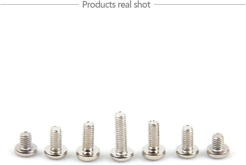 6 mm - 20 mm YINSONG Schrauben M3 x // M4 x M4x10 100 St/ück 3 mm - 20 mm - Kreuzschlitzschrauben mit Kreuzschlitz Vernickelung Kleiner Schrauben