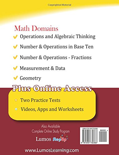 Ohio State Test Prep: 3rd Grade Math Practice Workbook and Full ...