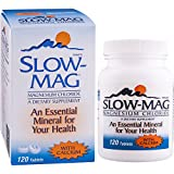 Cheap SlowMag Magnesium Chloride with Calcium Tablets, 120 Count, Dietary Supplement with Magnesium Chloride and Calcium for Daily Use