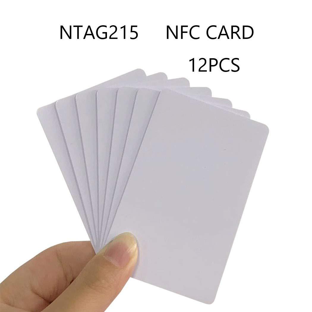 jiaxing NFC -Ntag215 Card ntag -215 White PVC Card para ...