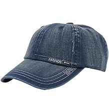 JAMONT Unisex Cotton Adjustable Plain Hat Baseball Cap Multi Colors
