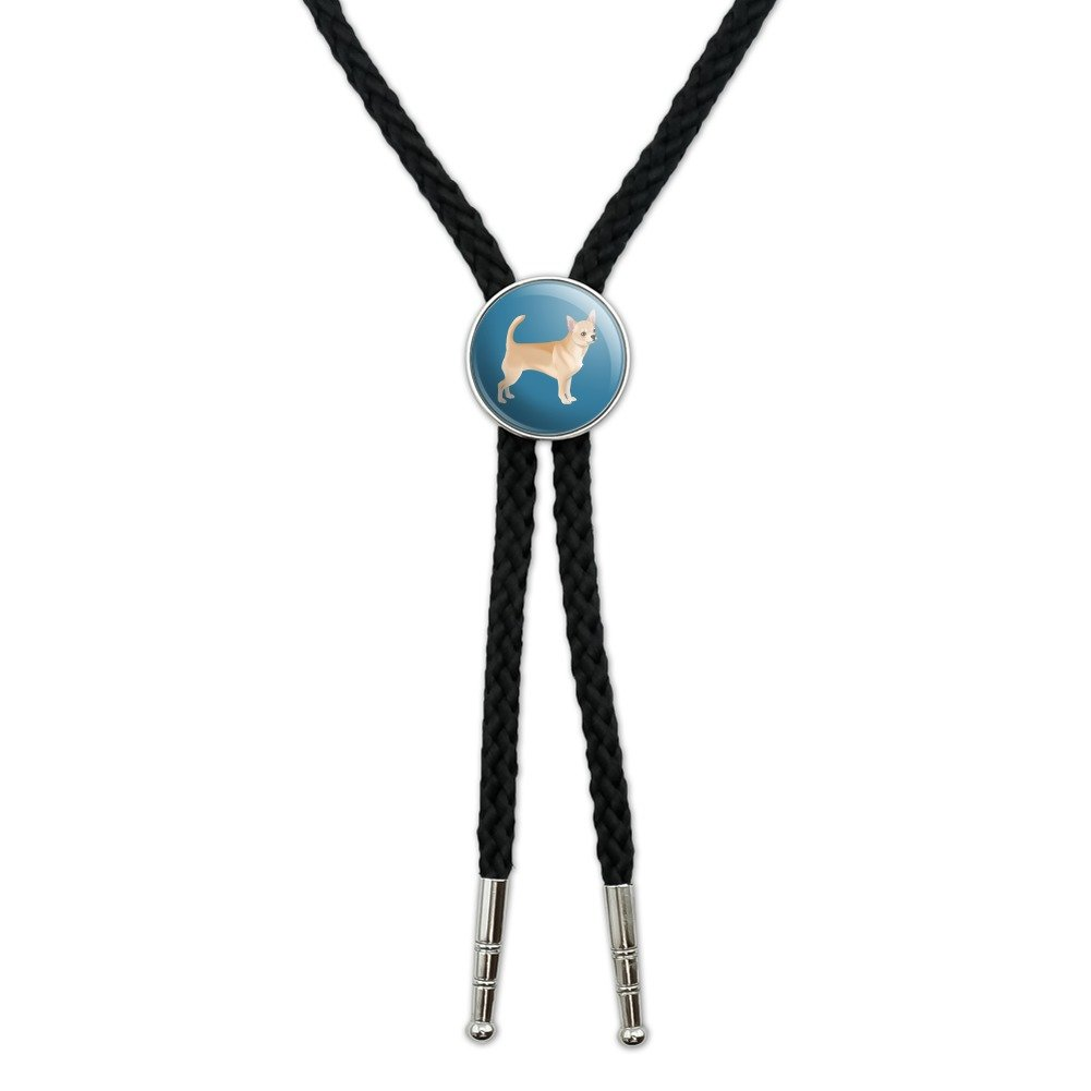 Chihuahua Dog Pet Drawing Western Southwest Cowboy Necktie Bow Bolo Tie GRAPHICS & MORE