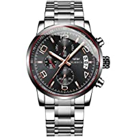 Olmeca Sport Analog Quartz Stainless Steel Chronograph Men's Wrist Watches