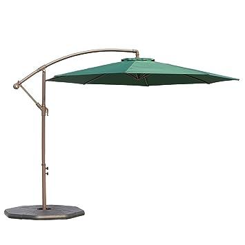 Картинки по запросу Le Papillon 10-Foot Cantilever Outdoor Offset Patio Umbrella