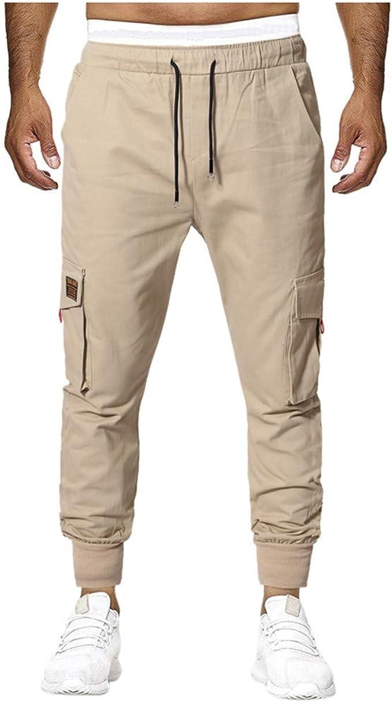 VPASS Pantalones para Hombre, Moda Chándal de Hombres Color ...