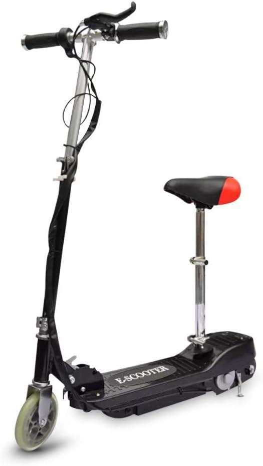 電気スクーター 120W 最大重量50 Kg シート付き電動自転車