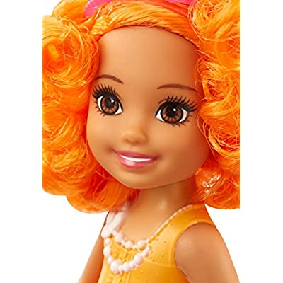 Barbie Dreamtopia Rainbow Cove Sprite Doll - Orange: Toys & Games