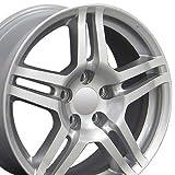 2005 acura tl rims - OE Wheels 17 Inch Fits Acura CL ILX Integra RL RSX TL TSX Honda Accord Civic CRV CR-Z Element Odyssey Prelude Acura Style AC04 Painted Silver 17x8 Rim