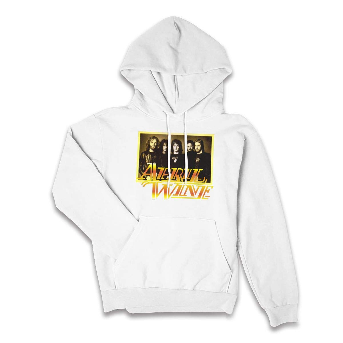 Erman Color Name Retro April Wine 1 Pullover Hooded Shirts With Pocket S