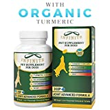 All-Natural Hip & Joint Supplement for Dogs - With Glucosamine, Chondroitin, MSM,