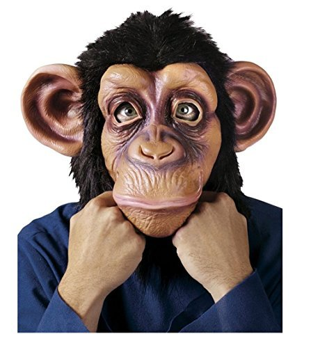 Grinch Latex Mask (GoLoveY Halloween Latex Rubber Animal Mask (Chimpanzee(Chimp)))