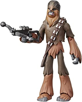 """Star Wars Galaxy of Adventures Chewbacca 5/"""" Action Figure Rise of Skywalker"""