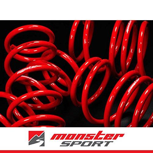 Monster Sport モンスタースポーツ ローダウンスプリングセット   B077389HWL