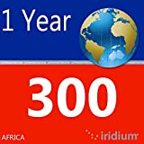 Iridium Satellite Phone Africa Prepaid SIM Card with 300 Minutes (12 Month Validity)