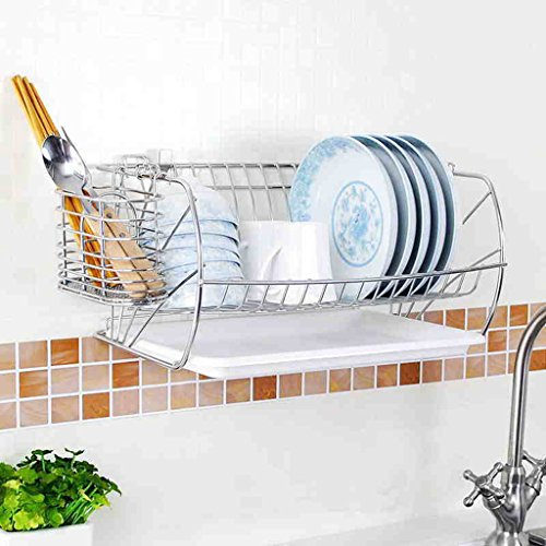 Hyun times Dishwasher Stainless Steel 41 20.8 26cm Drainage Kitchen Set Wall Hanging Pendant by Hyun times Bowl shelf