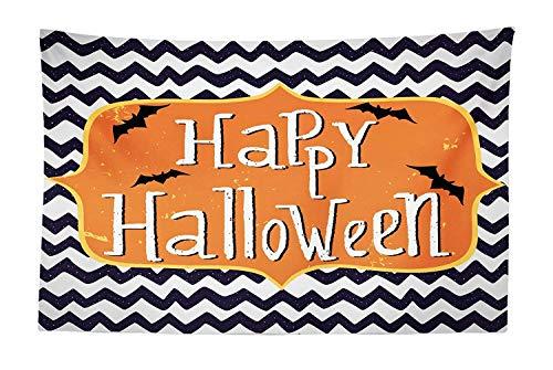SODIKA Halloween Tapestry, Cute Halloween Greeting Card Inspired