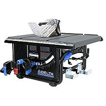 Delta 36-6010 10-Inch Portable Table Saw (30 in Rip Capacity), Black