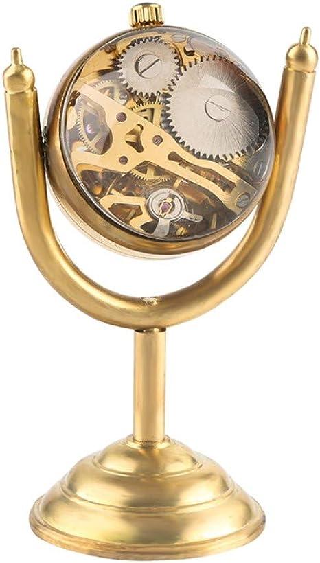 HANXIAO Relojes de Bolsillo Spinning Gold Prize Cup Reloj de ...