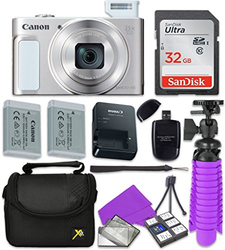 Canon PowerShot SX620 HS Wi-Fi Digital Camera  with Sandisk