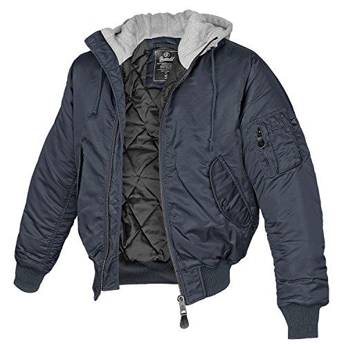 Negro Grau Sweathood Brandit MA1 Chaqueta Navy wR1xAtq