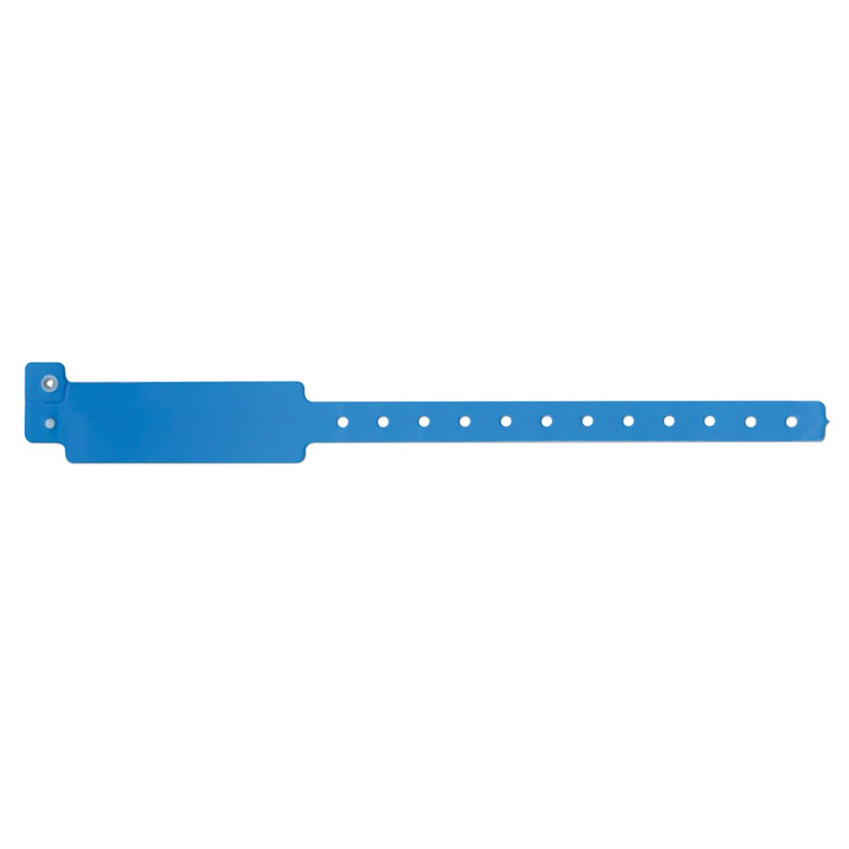 SPEEDI-BAND 420-13-PDM Write-On Wristband, Vinyl Clasp Closure, 1'' x 10'', Adult/Pediatric, Blue (Pack of 500)