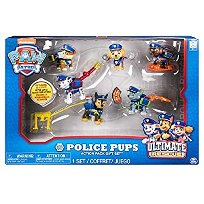 PAW Patrol Police Pups Action Pack Gift Set: Toys & Games