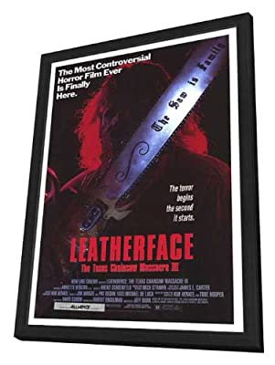 Leatherface: The Texas Chainsaw Massacre 3 27 x 40 Movie Poster - Style A - in Deluxe Wood Frame