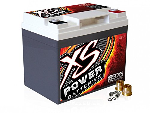 XS Power S975 'S Series' 12V 2,100 Amp AGM Automotive Starting Battery with Terminal