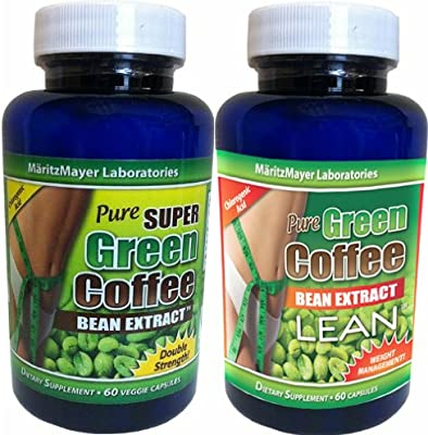 Amazon Com Maritzmayer Laboratories Green Coffee Bean Extract 1 Bottle 800mg Green Coffee Extract 1 Bottle