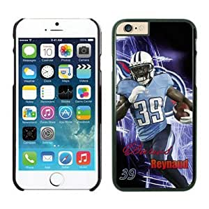 NFL iPhone 6 4.7 Inches Case Tennessee Titans Darius Reynaud Black iPhone 6 Cell Phone Case HGEROVFD4343