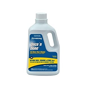 Armstrong 330408 Once 'N Done Concentrated Floor Cleaner, 1-Gallon