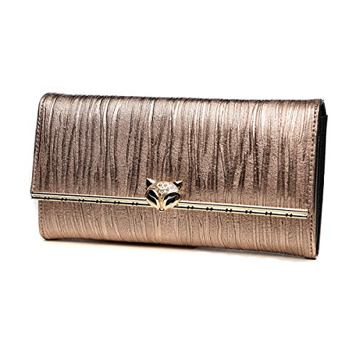 Women's Pouch Champagne Bag Wallet Bag Phone Clutch Clutch Small Cell Long Luxury Party Evening fRrxqwCf