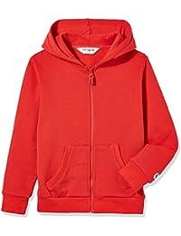 Kids' Brushed Fleece Zip-up Hooded Sweatshirt for Boys or Girls