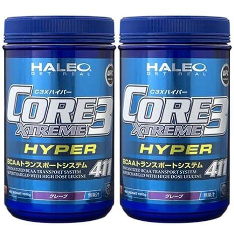 ハイパー グレープフルーツ BCAA (C3X) 1000g 【HALEO】 ハレオ CORE 3 XTREME