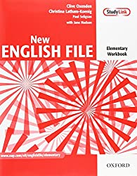New English File elementary workbook with answers and multiROM pack