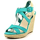 Jessica Simpson Jamey Women Open Toe Synthetic Wedge Sandal