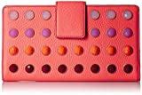 Fossil Women's Travel Wallet-Neon Coral