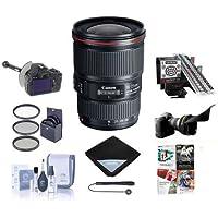 Canon EF 16-35mm f/4.0L IS USM Wide Angle Lens Bundle. USA. Value Kit #9518B002