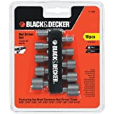 BLACK+DECKER 71-080 Nutdriver Set, 10-Piece