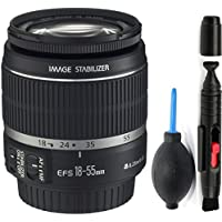 Canon 18-55mm IS Lens (WHITE BOX) + Deluxe Lens Cleaning Pen + Deluxe Lens Blower Brush