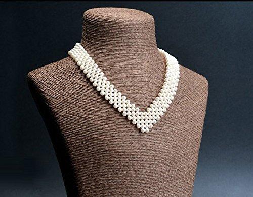 collier ras de cou perle de culture