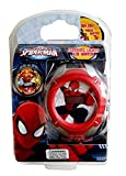 Ultimate Spiderman Flashing Lights LCD Watch