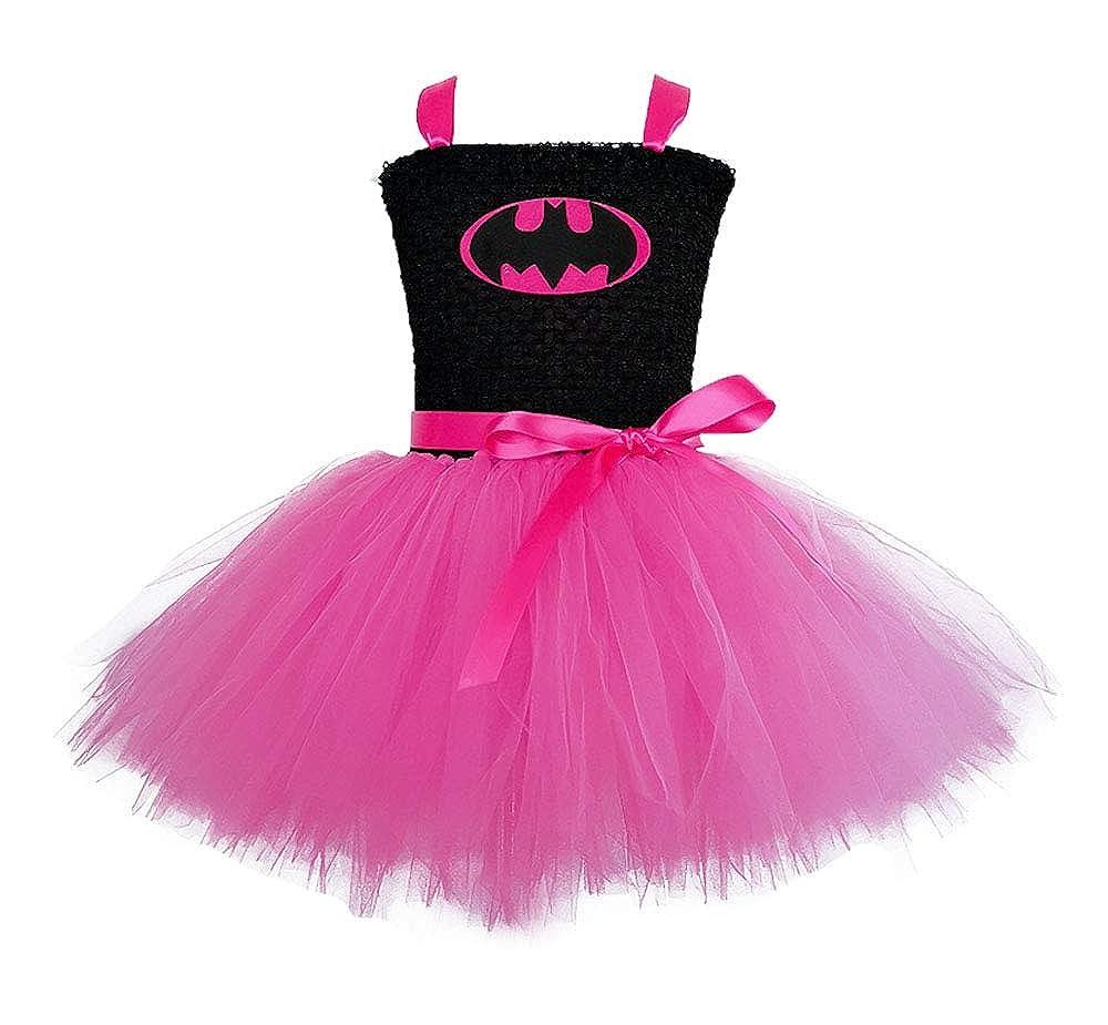 Super Hero Costume and Dress Up Kids Birthday Hero Role Play Tutu Outfits Hero Cape Mask