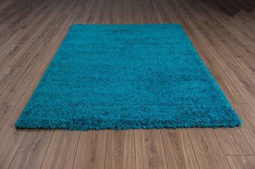 Tappeto Pelo Lungo Turchese : Vimoda moderno tappeto shaggy pelo alto runner soft touch a pelo