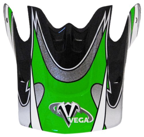 Vega Graphic Replacement Visor for Mojave Off-Road Helmet (Green) - Graphic Replacement Visor