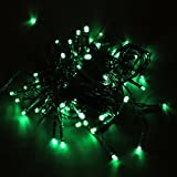 Fanala 60LED Xmas Garden Room Tree Party Decor Solar Power String Fairy Bulb Light 11M