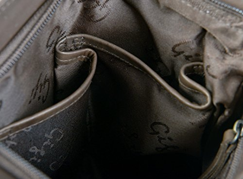 Gigi main 8082B Sac à Othello sac S Foncé cuir Bleu souple Small Marron fin femmes marine Bandoulière gngq8rwv