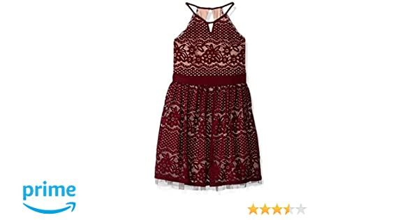 Amazon.com: My Michelle Girls Big Special Occasion Dress in Lace: Clothing